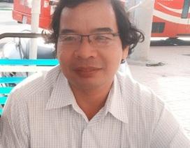 Một nhà báo tử nạn trên đường chở con đi học
