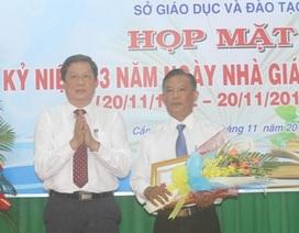 Cần Thơ: Vinh danh các tập thể cá nhân trong lễ kỉ niệm ngày nhà giáo Việt Nam