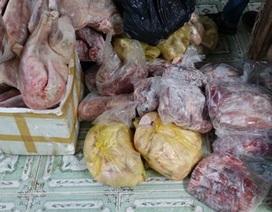 Phát hiện hàng trăm ký nầm lợn thối chuẩn bị lên bàn nhậu