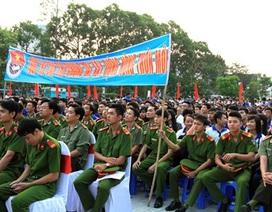 Cần Thơ: Hàng ngàn đoàn viên tham gia lễ ra quân Tháng thanh niên