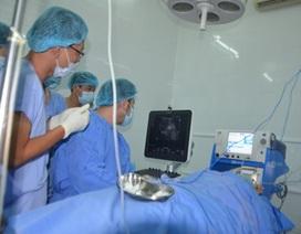 Bệnh viện Ung bướu Cần Thơ thực hiện kỹ thuật đốt u gan bằng sóng cao tần
