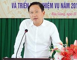 Ông Trịnh Xuân Thanh xin không tái cử Phó Chủ tịch Hậu Giang