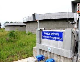 Nhà máy xử lý nước thải gần 500 tỷ đồng chưa vận hành đã... lạc hậu