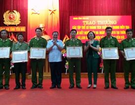 Bộ trưởng Công an khen thưởng lực lượng phá thảm án tại Yên Bái