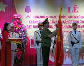 Cảnh sát PCCC Hà Nội nhận Huân chương Chiến công hạng Nhất