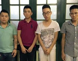 Nhóm thanh niên đua xe làm náo loạn đường phố Hà Nội