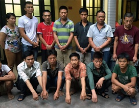 """Hà Nội: Triệt phá ổ nhóm trộm cắp xe máy """"khủng"""""""