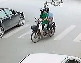 Trộm chó bị camera ghi hình ở Hà Nội