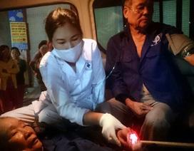 Hà Nội: Giải cứu 2 cụ già mắc kẹt trong đám cháy lúc nửa đêm