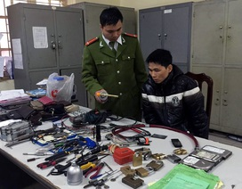 Hà Nội: Cảnh sát lần theo tài khoản iCloud để bắt trộm