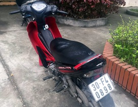Xe trộm cắp từ 8 năm trước bị 141 Hà Nội lật tẩy