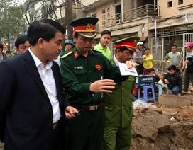 Vụ nổ kinh hoàng ở Hà Đông: Nghi do cưa bom