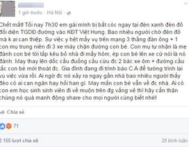 """Sự thật vụ """"bắt cóc trẻ em"""" giữa phố đông người ở Hà Nội"""