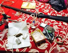 Hà Nội: Phát hiện nhiều súng, đạn tại tụ điểm ma túy