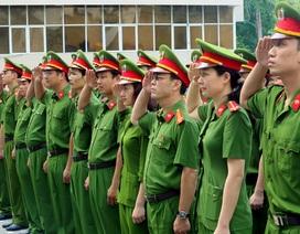 Ngắm trang phục mới của lực lượng công an nhân dân