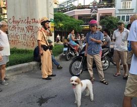 """Hà Nội: CSGT tóm gọn hai """"cẩu tặc"""""""