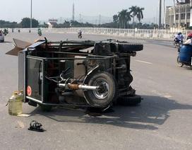 Hà Nội: Va chạm với xe ba bánh, nữ sinh nhập viện