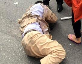 Hà Nội: Truy tìm xe tải tông CSGT rồi bỏ chạy