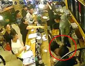 Hà Nội: Nữ nhân viên quán nhậu bị thực khách hành hung