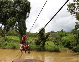 """UBND tỉnh Gia Lai yêu cầu kiểm tra """"làng đu dây qua suối"""""""
