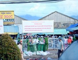 Vụ cán bộ đi chợ bị lập biên bản: Chính thức đóng cửa chợ cũ