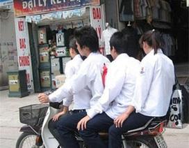 Đình chỉ học với học sinh tái phạm luật giao thông: Phụ huynh lo ngại