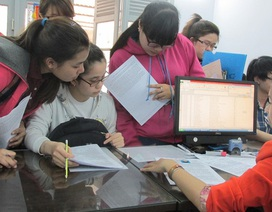 Hà Nội: Nhiều học sinh đăng kí thi 5 môn