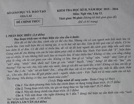 """Bất ngờ, tiến sĩ Văn học khen ngợi đề thi Văn """"hại não"""""""