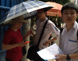 Hà Nội: Hơn 300 thí sinh bỏ thi môn Ngữ Văn
