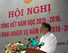 """Hà Nội: Sẽ không còn nhà vệ sinh """"bẩn không chịu nổi"""" ở trường học"""
