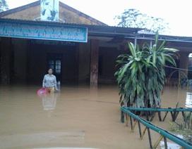 Bố trí nơi học tạm nếu trường ngập lụt dài ngày