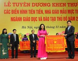 Hà Nội: Tuyên dương 700 nhà giáo mẫu mực