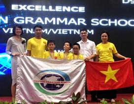 Việt Nam đoạt giải cao tại cuộc thi Robothon quốc tế
