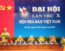 Ông Thuận Hữu tái đắc cử Chủ tịch Hội Nhà báo Việt Nam