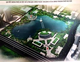 Hà Nội: Công viên 300 tỷ sẽ hoàn thành vào tháng 10/2016