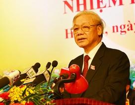 Tổng Bí thư: Hà Nội cần đẩy mạnh phòng chống tham nhũng, lãng phí