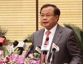 Tướng Chung được giới thiệu bầu làm Chủ tịch Hà Nội theo đúng quy trình