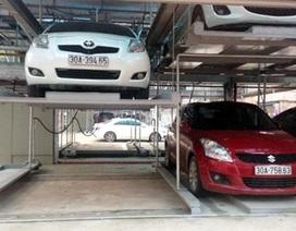 Khánh thành nhà đỗ xe giàn thép 4 tầng hiện đại nhất Hà Nội