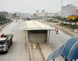 Hà Nội: Tuyến buýt triệu đô chậm tiến độ do… vừa làm vừa học!