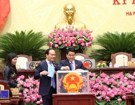 Ông Nguyễn Đức Chung tái đắc cử Chủ tịch UBND TP Hà Nội