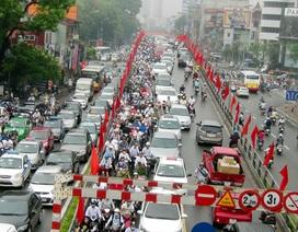 Hà Nội: Ô nhiễm không khí vượt giới hạn cho phép ở một số nơi