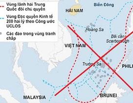 """""""Các tuyên bố của Trung Quốc không còn nhắc tới đường chín đoạn"""""""