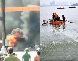 200 tấn cá chết bất thường ở Hồ Tây, hành khách ôm mìn tự sát