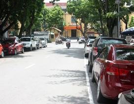 Hà Nội: Trông giữ ô tô dưới lòng đường theo ngày chẵn, lẻ ngay trong tháng 11?