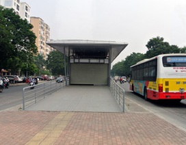 Hà Nội chốt thời gian chạy tuyến xe buýt nhanh đầu tiên