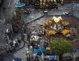 """Đánh bom đền thờ Erawan: Khi chủ nghĩa cực đoan """"gõ cửa"""" Bangkok"""