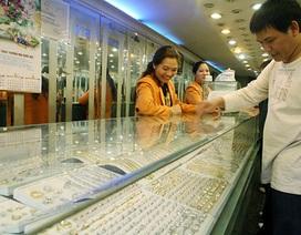 Giá vàng giảm khá mạnh phiên đầu tuần