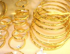 Vàng trong nước đồng loạt tăng nhẹ