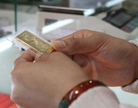 Giảm khá mạnh, vàng nội vẫn đắt hơn 1,8 triệu đồng/lượng