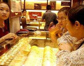 Giá vàng liên tục giảm sâu